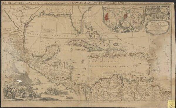 Archipelague du Mexique ou sont les Isles de Cuba, Espagnole, Jamaïque &c.