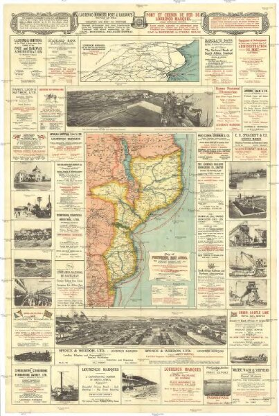 Map of Portuguese East Africa