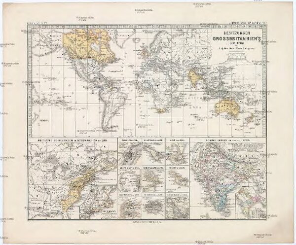 Besitzungen Grossbritannien's seit 1783