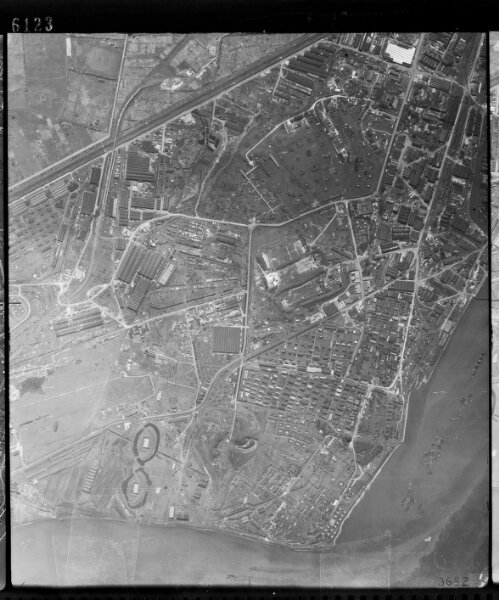 RAF Aerial Photographs of London, 1944-49