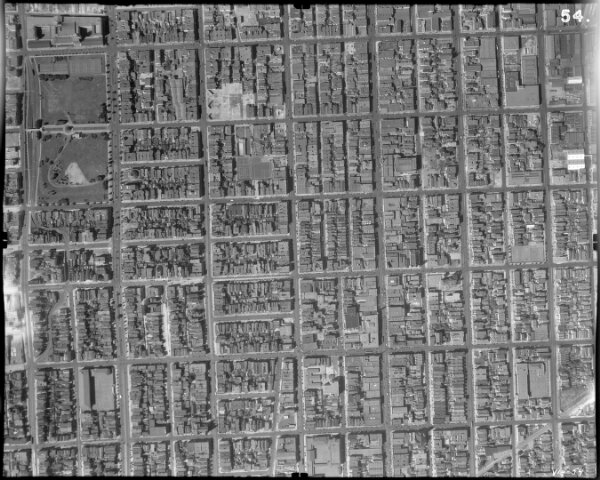 54.  San Francisco Aerial Negative.