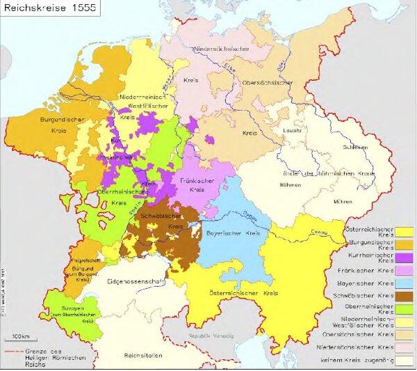 Reichskreise 1555