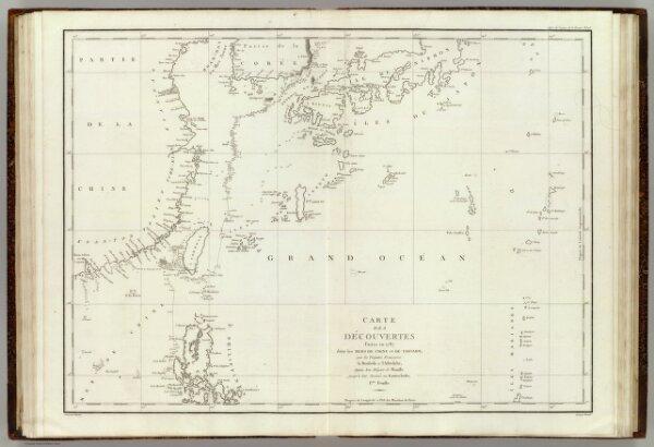 Mers, Chine, Tartarie. 1.