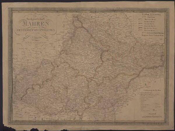 Markgrafschaft Mähren nebst Oesterreichisch Schlesien