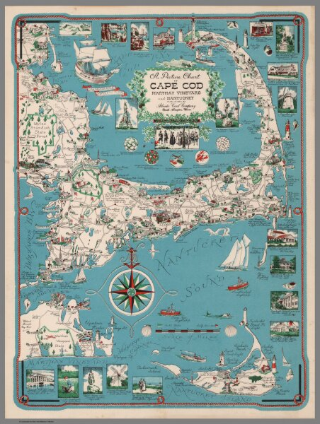 Picture Chart of Cape Cod, Martha's Vinyard and Nantucket. on charles river map, suffolk county map, billingsgate island map, cape cod map, newport map, united states map, south carolina map, martha's vineyard map, hudson ma on map, hyannis map, maine map, block island map, long island map, hawaii map, massachusetts map, boston map, connecticut shore map, north carolina map, new england map, plymouth map,