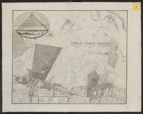 Carte du camp d'Utrecht, commandé par le général en chef Marmont