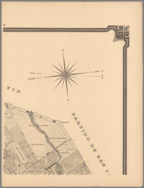 IV. Plano topografico de la ciudad de Buenos Aires