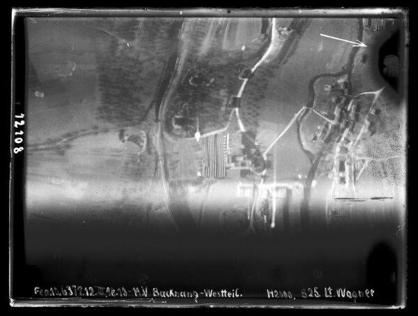 HStAS M 700--1_Nr. 13_ : Backnang (Rems-Murr-Kreis), West (Luftaufnahmen)