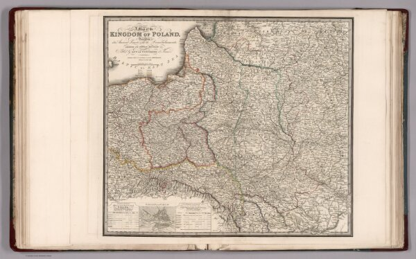 Map of the Kingdom of Poland