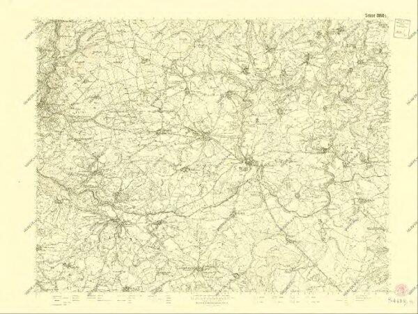 III. vojenské mapování 3950/3