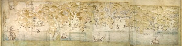 South west coast of England from Exeter to Land's End, 1539-40