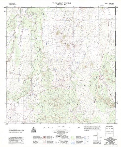 8456-23 Cockatoo Creek edition 1