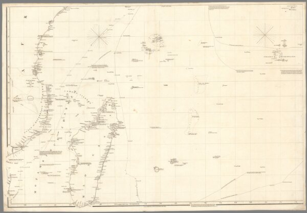 Chart of the Indian Ocean (Southwest)