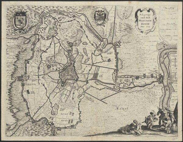 Beleegeringe vande stadt Hertogenbosch anno 1629.