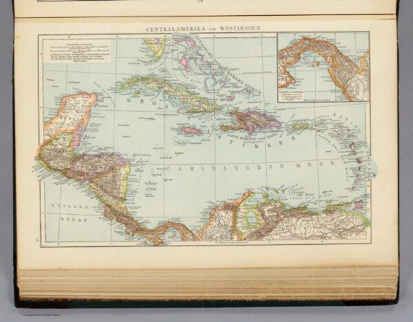 Centralamerika und Westindien.