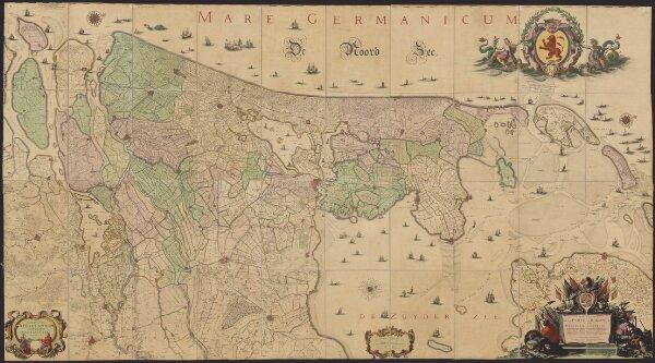 Comitatus Hollandiæ et Dominii Ultraiectini tabula