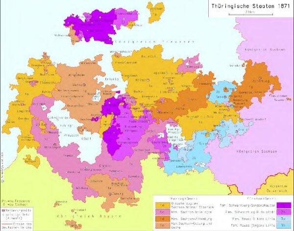 Thüringische Staaten 1871