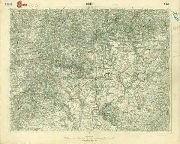 III. vojenské mapování 4357