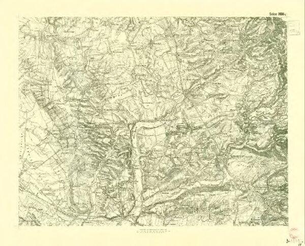 III. vojenské mapování 3956/2