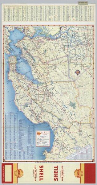 Downtown San Francisco. Street Map of San Francisco.