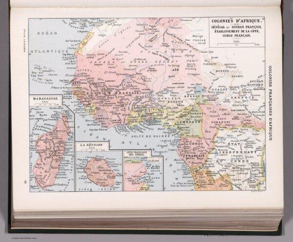 Colonies Francaises d'Afrique.
