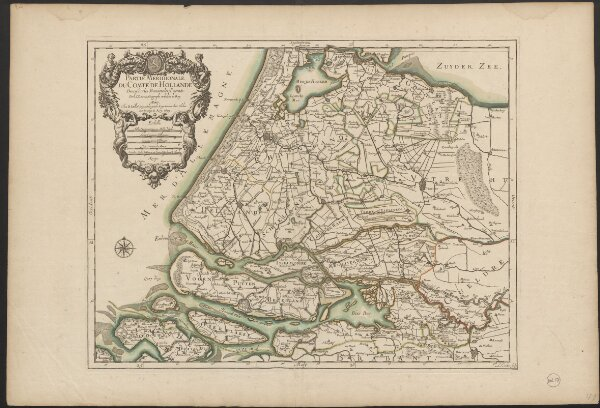 Partie meridionale du Comté de Hollande
