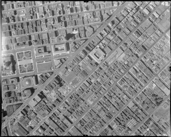 42.  San Francisco Aerial Negative.