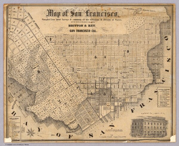 Map of San Francisco.