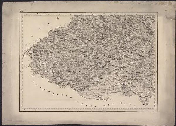 General-Karte der Markgrafschaft Mähren mit den Antheilen des Herzogthums Schlesien nach der Specialkarte reduzirt