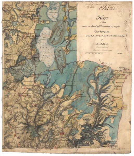 Akershus amt nr 109-14: Krokier til Romerikskartene
