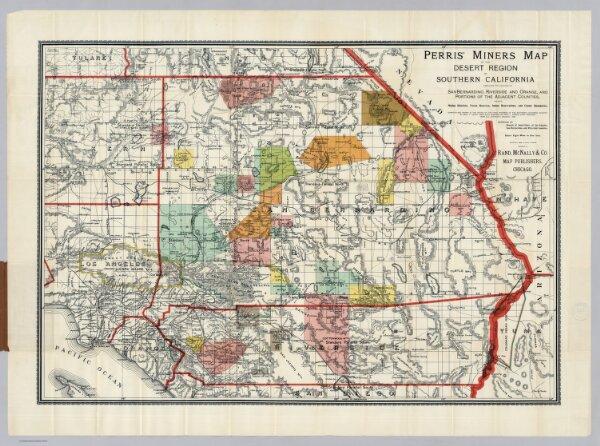Desert Region Of Southern California