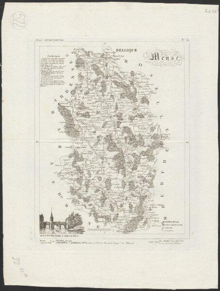 [Atlas départemental : La France et ses colonies] No. 54 Meuse