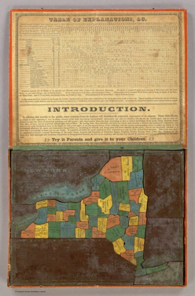 Geographical Analysis of the State of New York