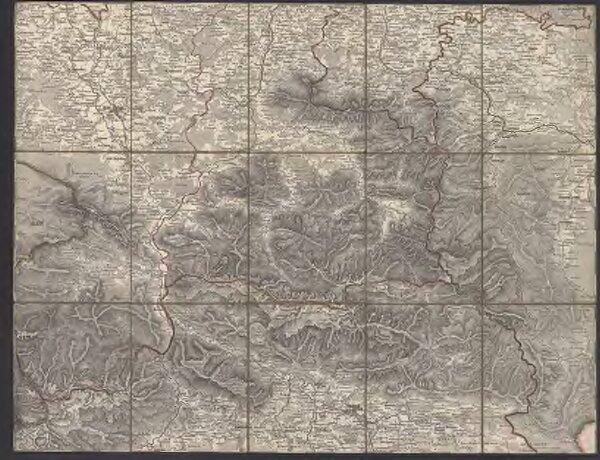 [Administrativ-Karte des Erzherzogthumes Oesterreich ob der Enns