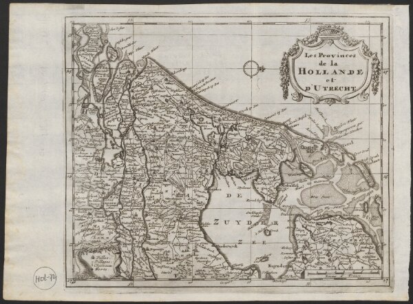 Les provinces de la Hollande et d'Utrecht