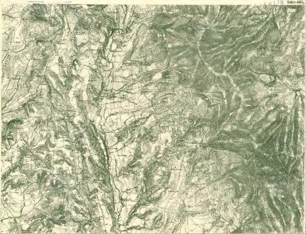III. vojenské mapování 4467/3