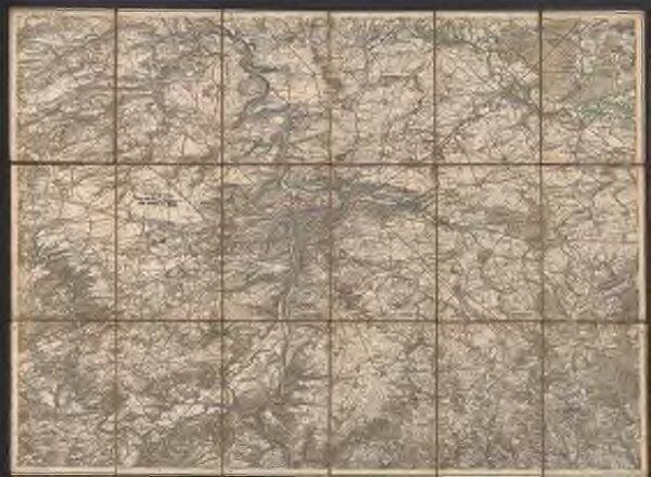 Umgebungs-Karte von Prag
