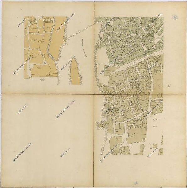 Praha. Mapy staré Prahy k letům 1200, 1348 a 1419
