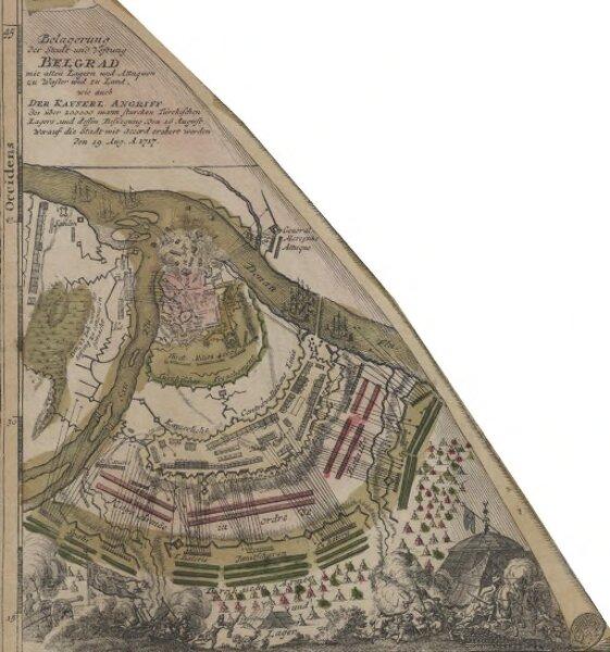 Belagerung der Stadt und Vestung Belgrad