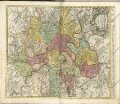 "mapa z atlasu ""Grosser Atlas Uber die Gantze Welt. :"""