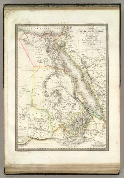 Egypte, Nubie, Abissinie.