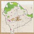 Hettlingen: Definition der Siedlungen für die eidgenössische Volkszählung am 01.12.1960; Siedlungskarte Nr. 93