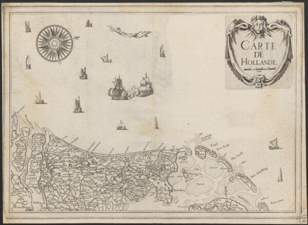 Carte de Hollande