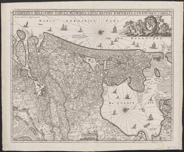 Comitatus Hollandiae tabula