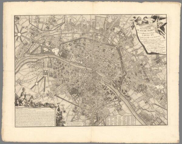 Neuvième plan de Paris.