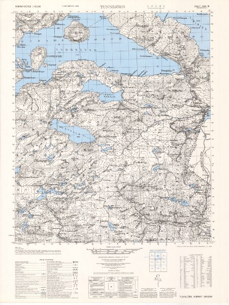 1924-3 Tunnsjöen