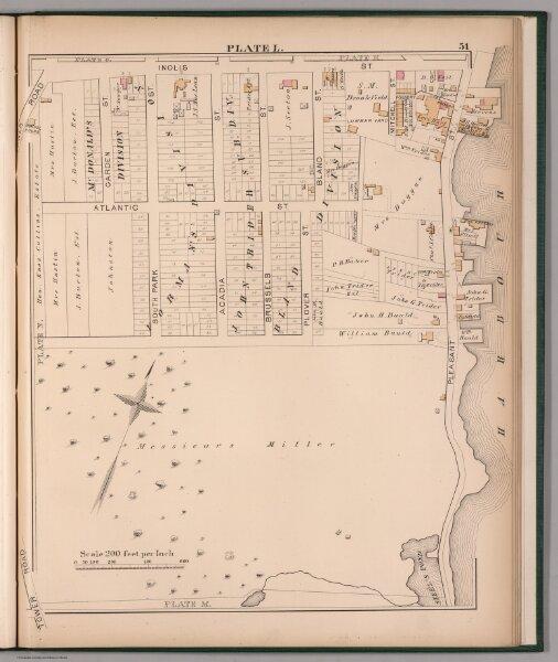 Plate L.  (Part of Ward 1, Halifax).