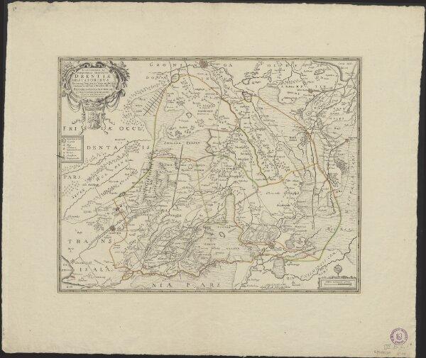 Illustribus ac potentibus comitatus Drentiae DD. Statoribus ... Reflorescentis Provinciae et Westerwoldiae Dominii typum emendatum LMQ dedicat Cornelius Pynacker.