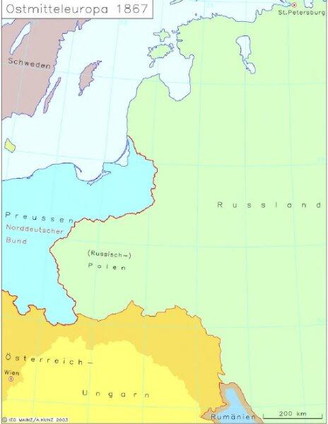 Ostmitteleuropa 1867