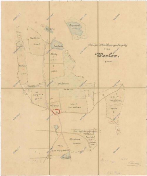 Mapa dvora Oslova 1